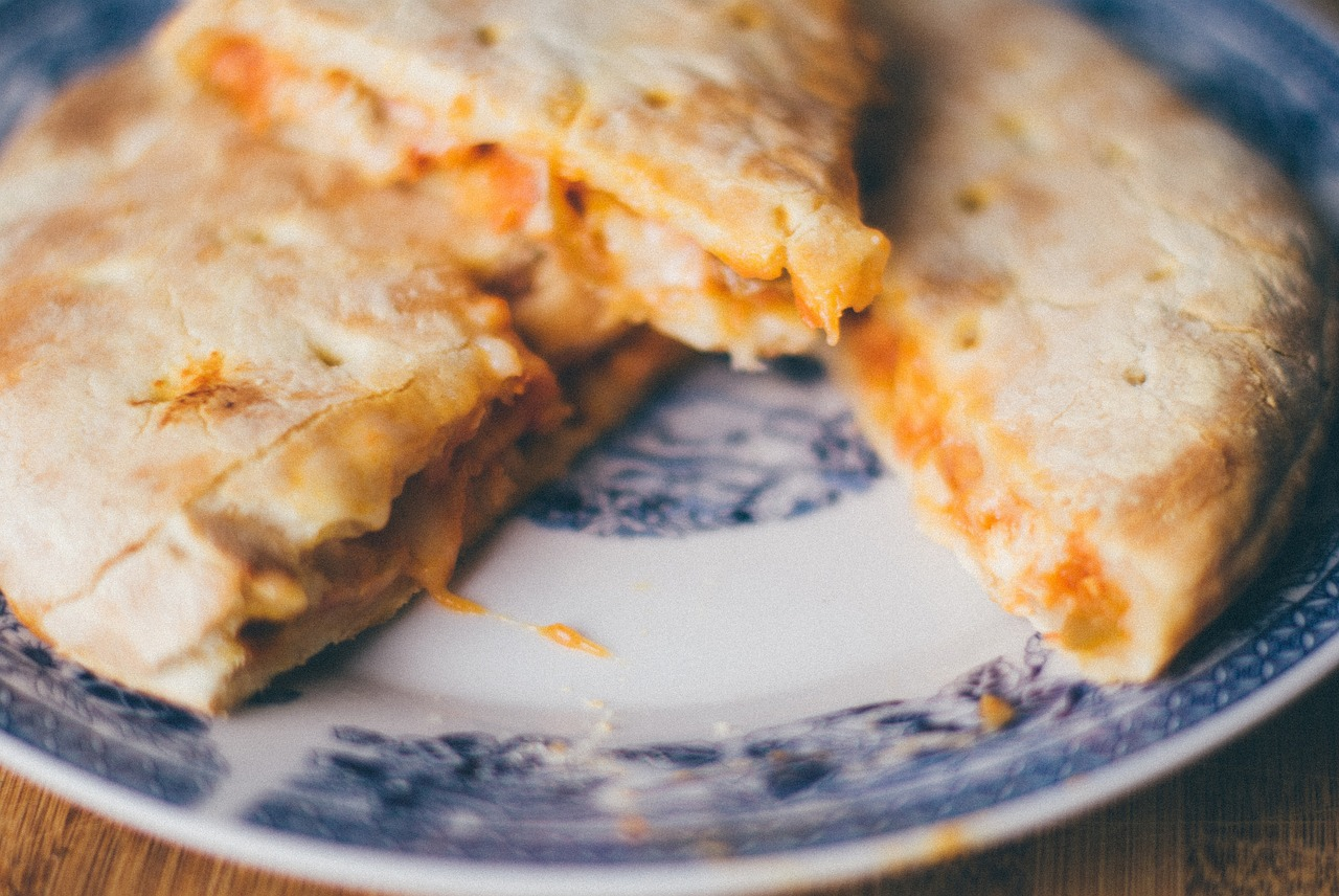 cheese chicken calzones