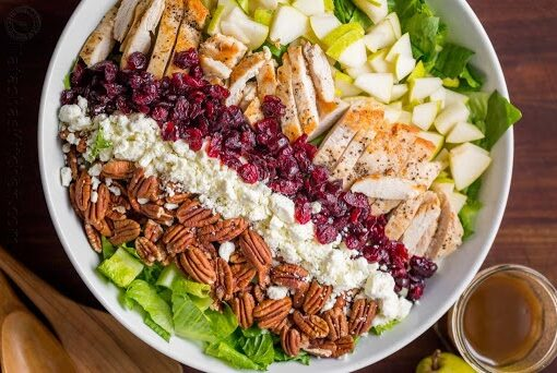 Autumn chicken salad recipe, the most delicious salad suitable for autumn