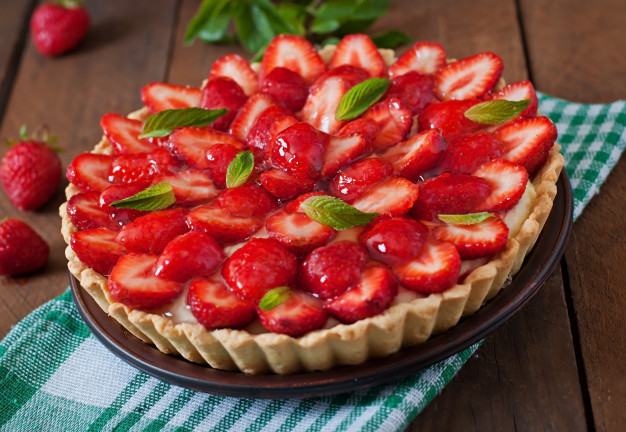 The most delicious recipe for strawberry tart for your evening meal