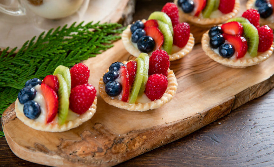 Fruit tart recipe, children's favorite tart with a special method