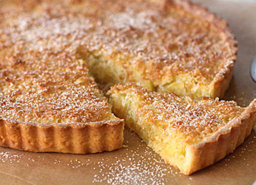 The easiest recipe to make coconut tart