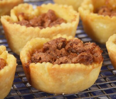 What is the easiest recipe for Butter tarts ?