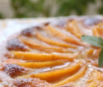 Recipe of persimmon tart