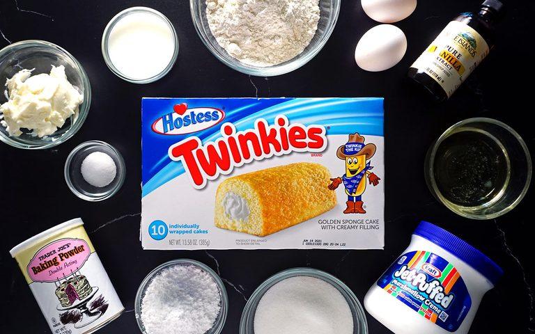 How to make homemade Twinkie