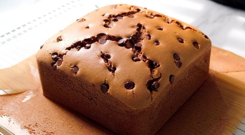 The recipe of Castella Chocolate Cake