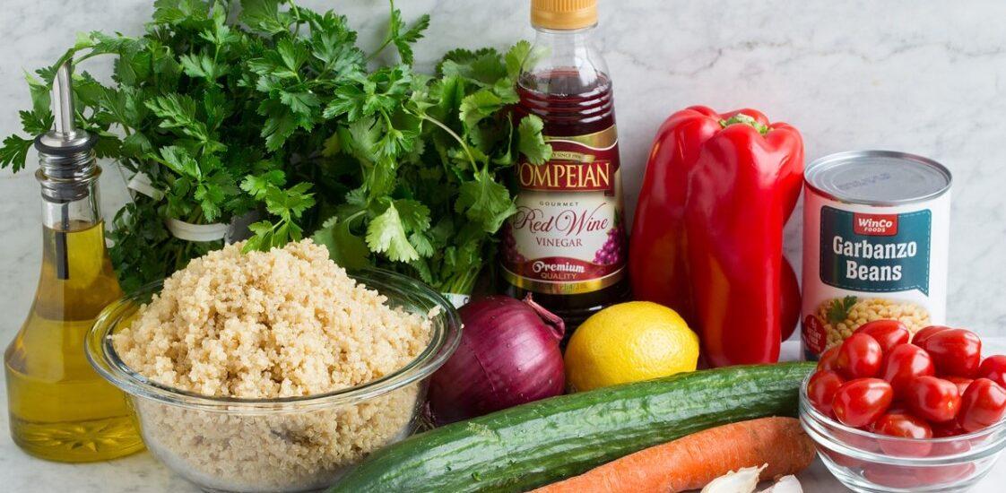 How to make quinoa salad dressing