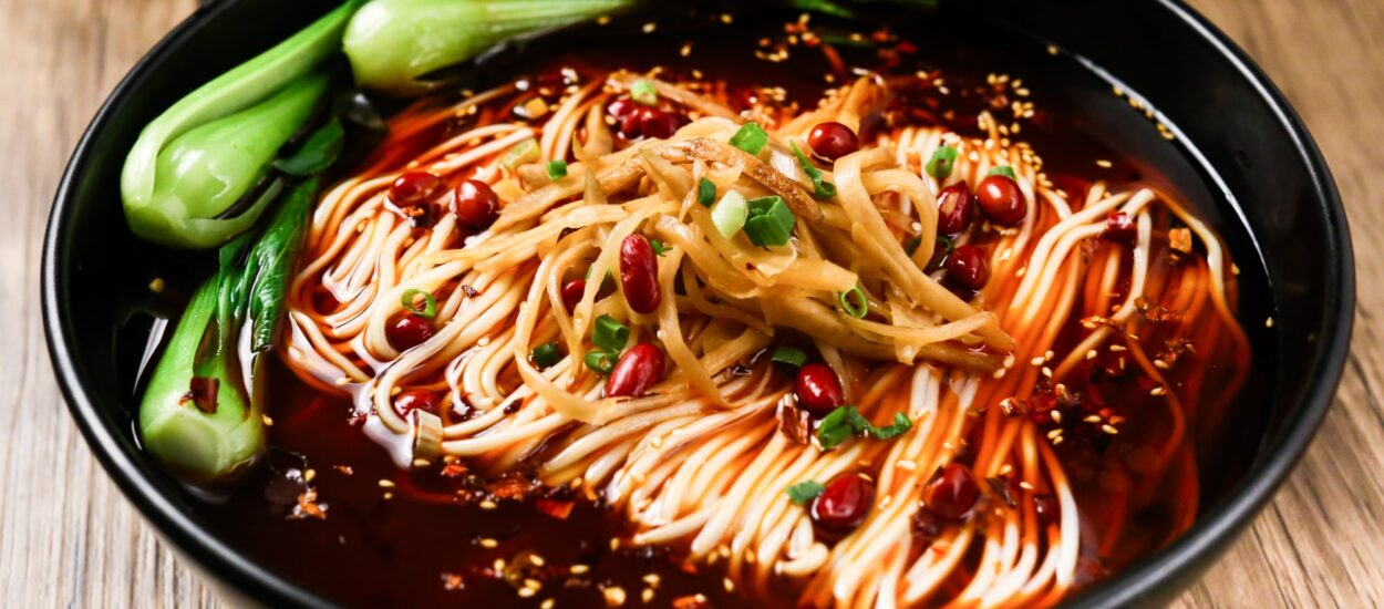 Why do Chinese people love noodles?