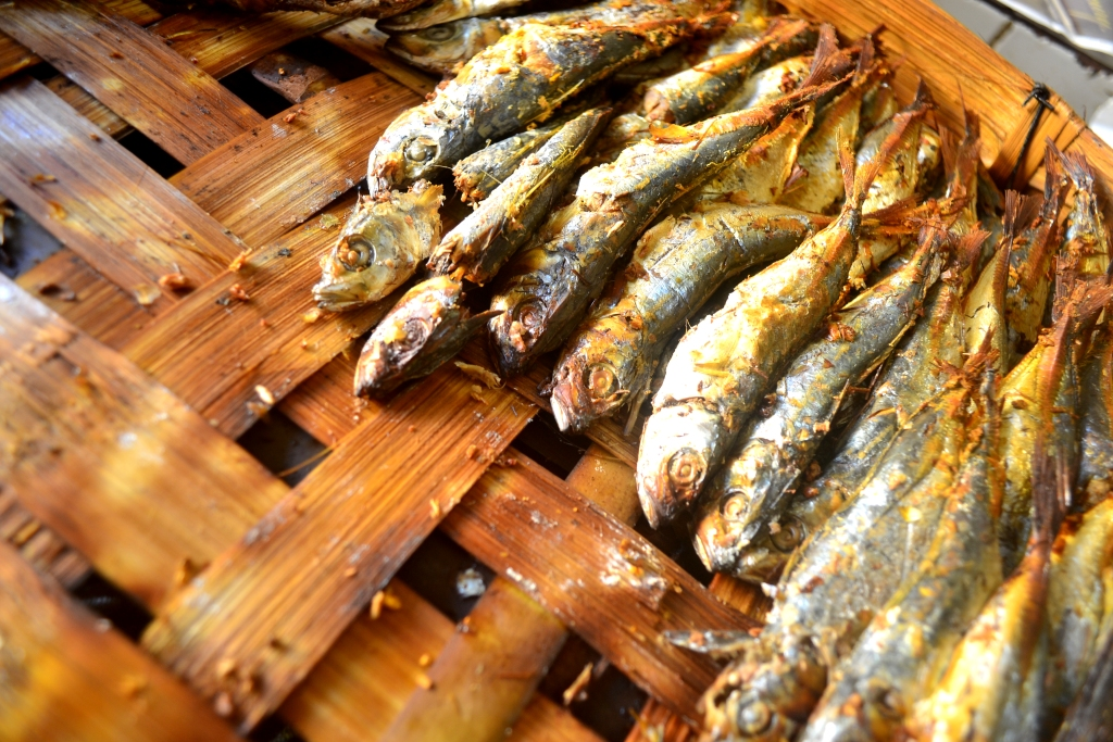 How to cook a smoked fish?