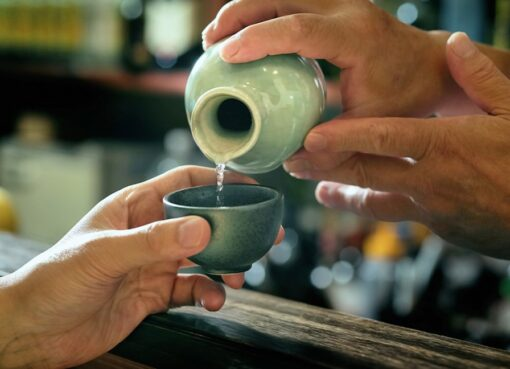 What are the benefits of traditional rice wine?