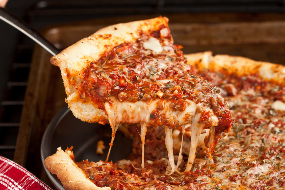 The revolutionizing time for pizza of Chicago style pizza