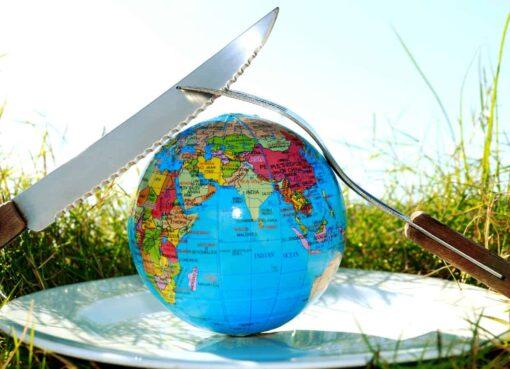 Global food history